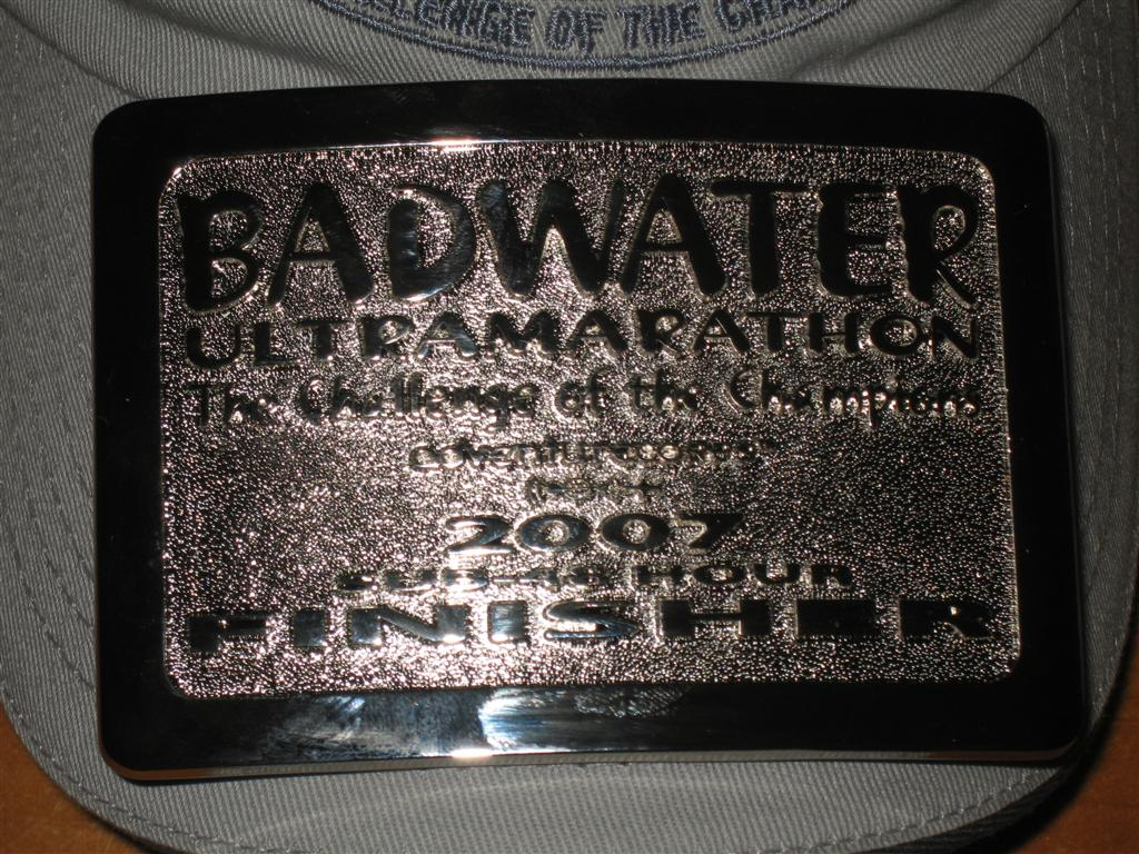 Badwater Sub-48 Hour Buckle