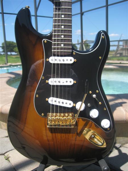 Tobacco Burst Stratocaster