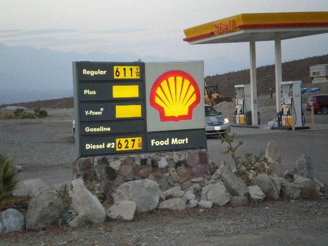 Panamint Springs Gasoline